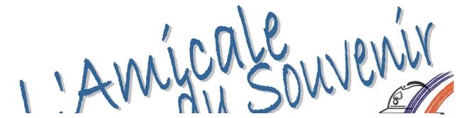 Logo de l'amicale du souvenir de longues sur mer dans le calvados procha bayeux