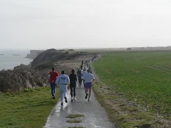 running 1 à longues sur mer