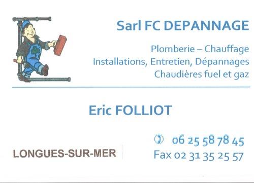 Sarl FC dépannge Folliot à longues sur mer