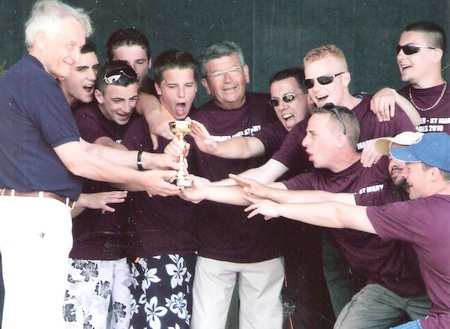 l' équipe de Longues sur mer du jumelage