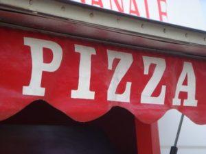 pizzas longues sur mer