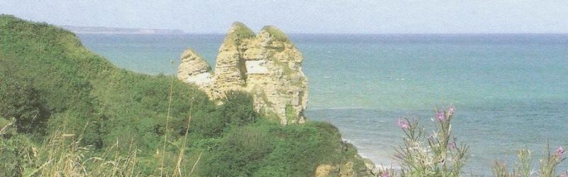 slider2 les rochers au bord de la falaise à Longues sur mer