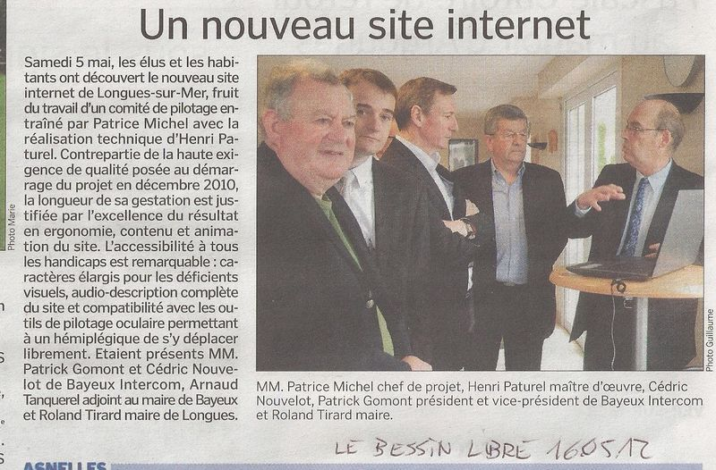 article Le Bessin Libre inauguration