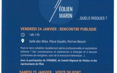 24.01.20 DEBAT PUBLIC SUR EOLIEN AU LARGE DES COTES NORMANDES