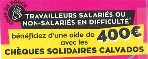 30.11.20 Chèques solidaires Calvados