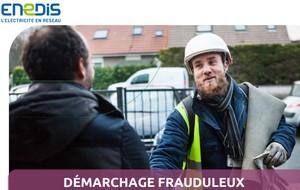 24.11.20 Alerte Démarchage frauduleux / ENEDIS