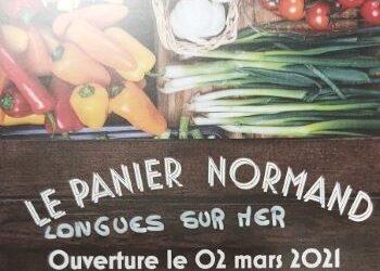 02.03.21 Ouverture de l'épicerie LE PANIER NORMAND