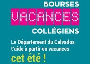 22.03.21 Bourse Vacances Collégiens Calvados